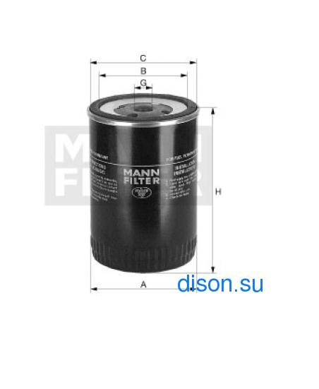 WK 9140 Фильтр топливный