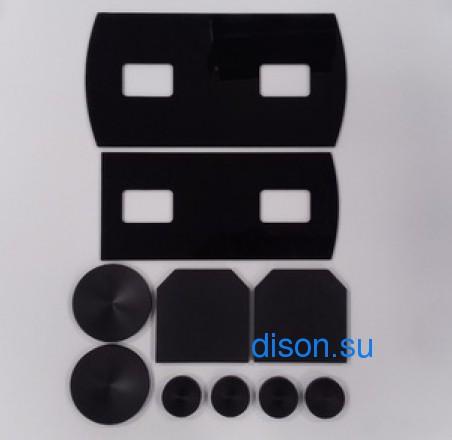 6193766M91 комплект накладок на телескоп