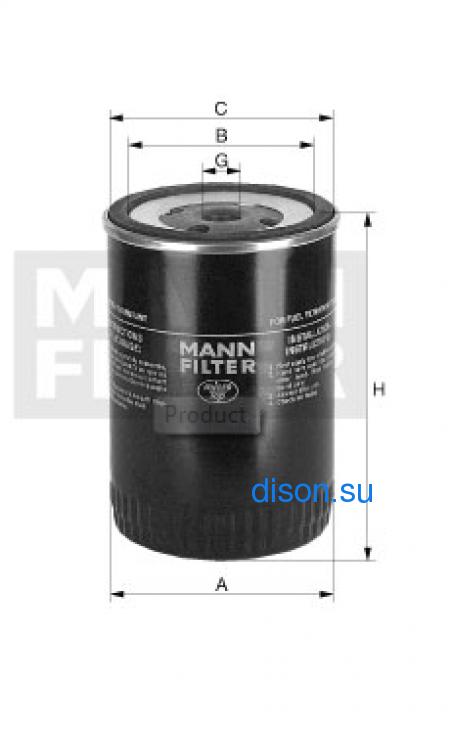 WK 9150 Фильтр топливный